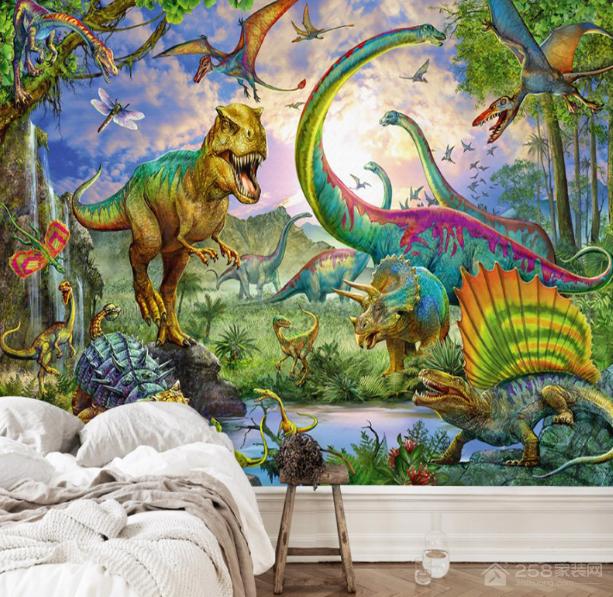 """家里有了这些恐龙装饰物,就是把""""侏罗纪世界""""搬回家了"""