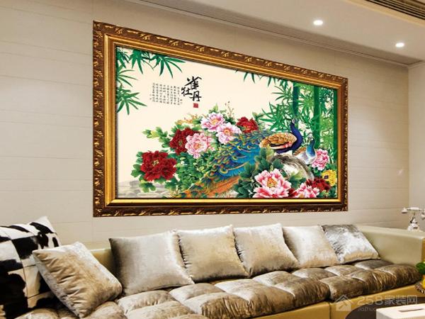 客厅招财画有哪些