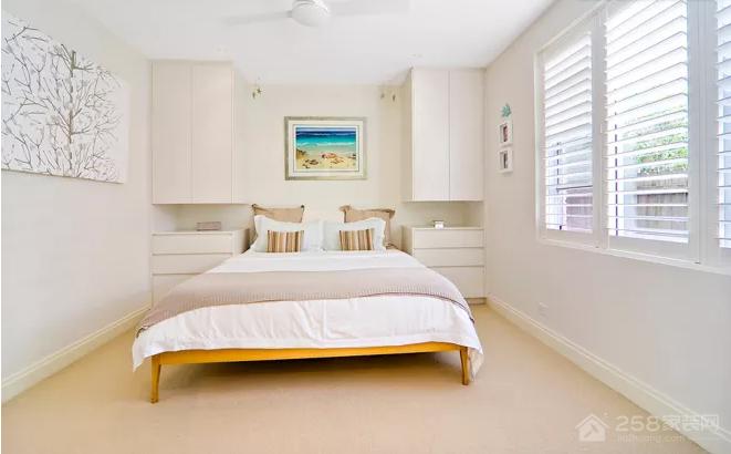 小卧室其实也能拥有大空间的效果