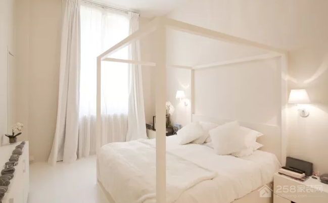 不同的白色调,让你的家变得温暖起来