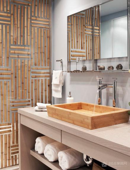 舒适的亚洲风格浴室设计,给你温泉般的奢华体验