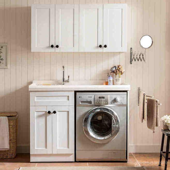 角落的洗衣柜,还可以这样好看