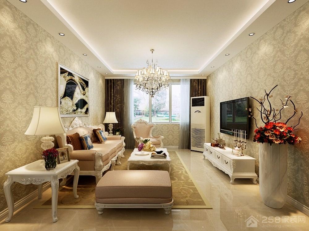 客厅墙纸什么颜色好看,客厅墙纸颜色怎么搭配