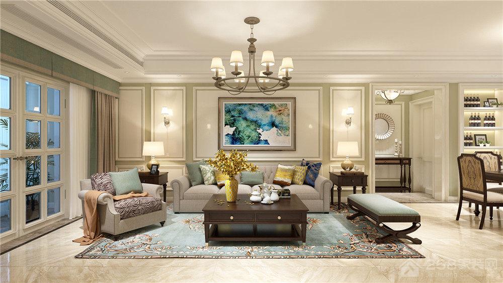 204㎡现代欧式风格住宅,打造高端品质生活