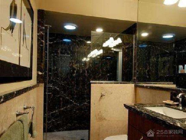卫生间隔断墙怎么设计,用什么材料做