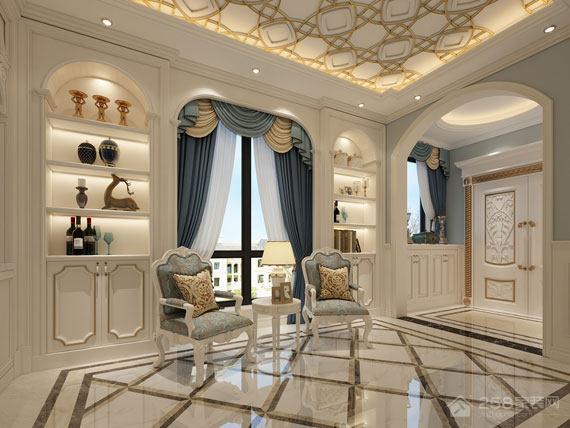 350㎡超大居住空间,别墅与欧式风格的完美邂逅