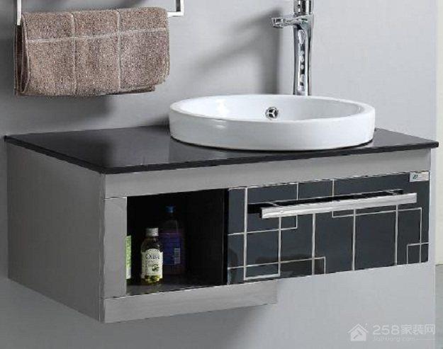 卫生间台盆柜尺寸多少,台盆柜安装的注意事项