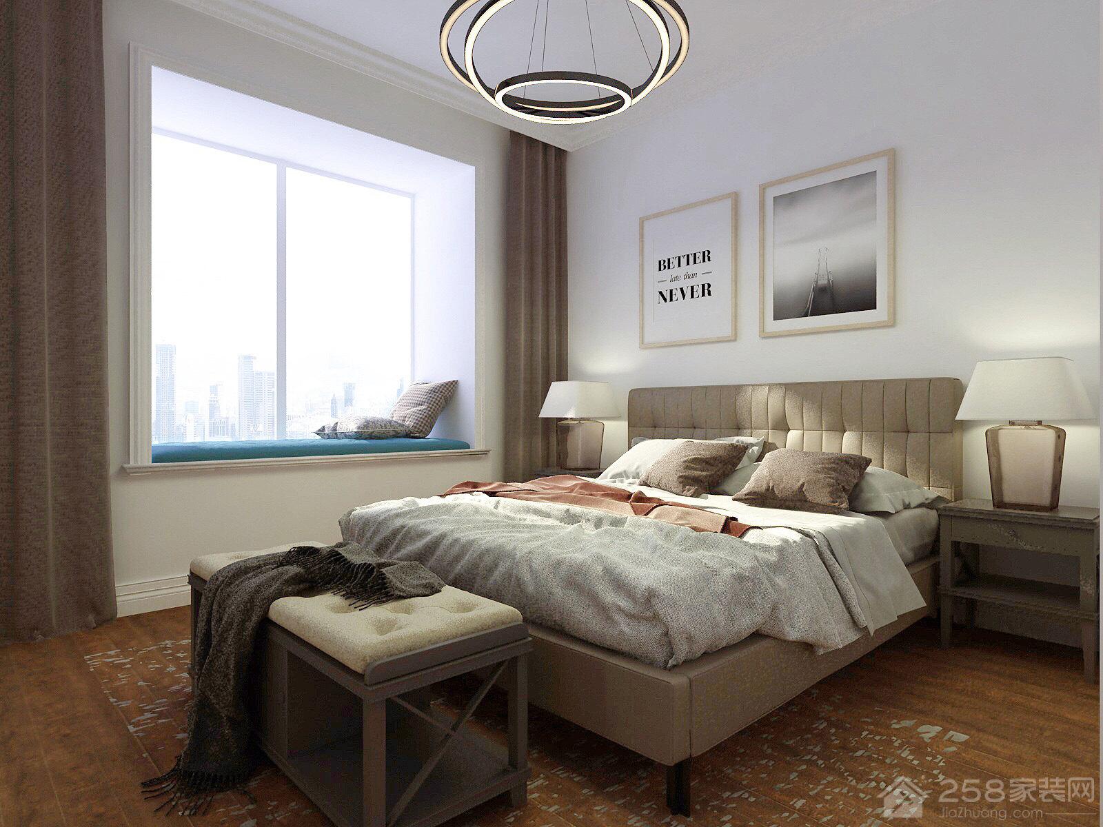 100㎡的現代簡約三居室,設計很實用有價值