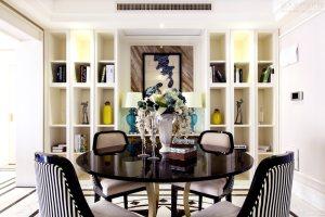 新古典三居室装修效果图