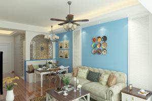 阳光城翡丽湾地中海二居装修设计
