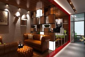 小型办公室现代简约设计