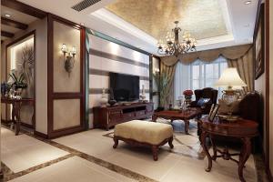 信达·蓝爵美式三居装修案例