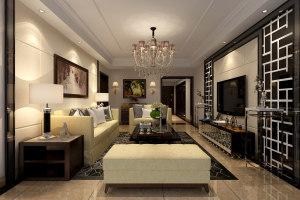 蠡新家园中式四居装修案例