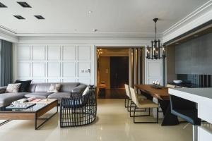 碧桂园现代简约三居室案例