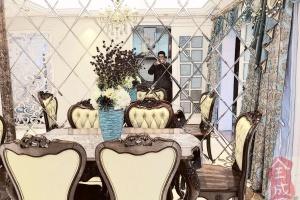 怡景苑复式楼欧式装修案例