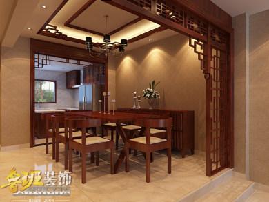 白龙潭尚书苑中式装修案例