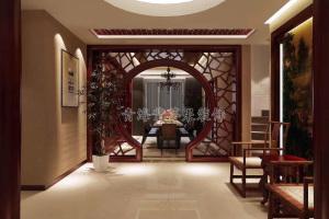 香格里拉中式四居室装修