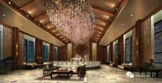 洲际酒店中式装修效果图
