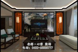 中海国际中式装修效果图