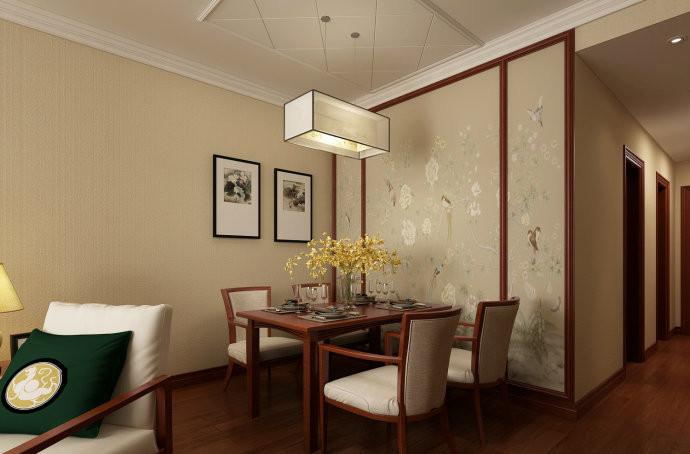 金色家园中式装修效果图
