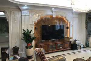 三盛托斯卡纳欧式三居室装修效果图