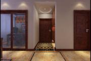 阳光波士顿125㎡中式三居室装修效果图