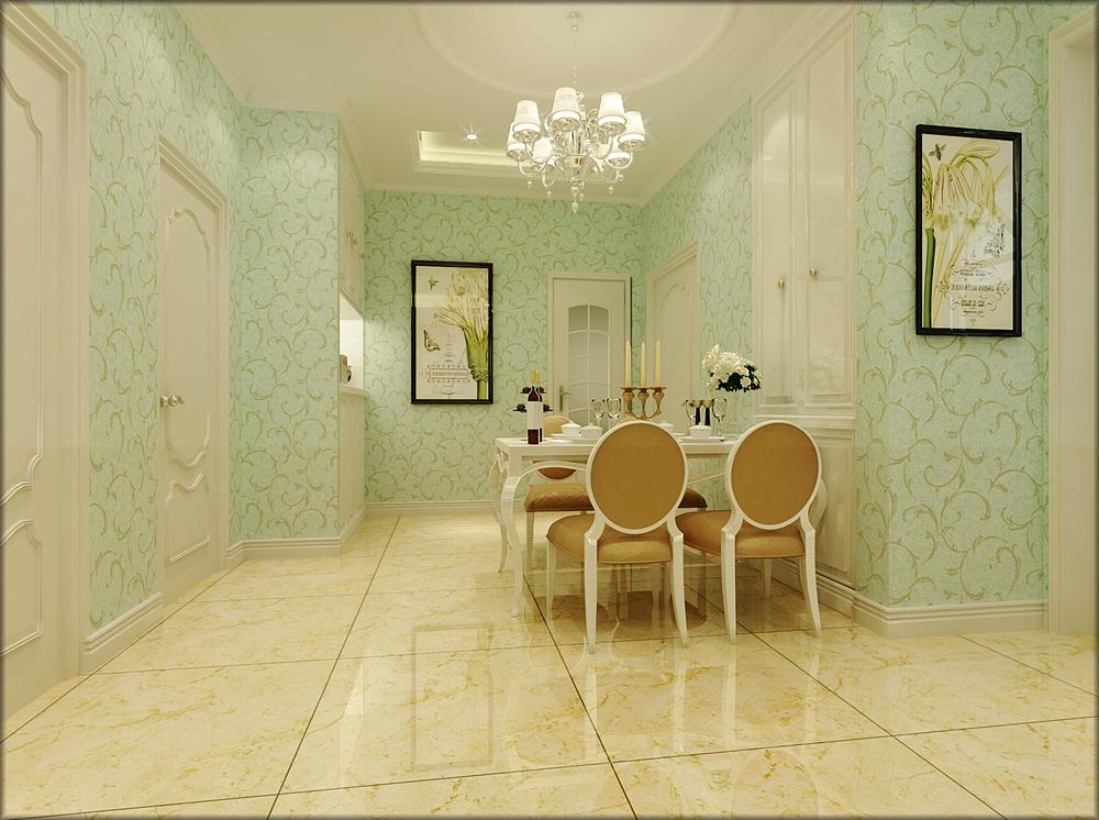 珺琳简欧风格二居室装修效果图