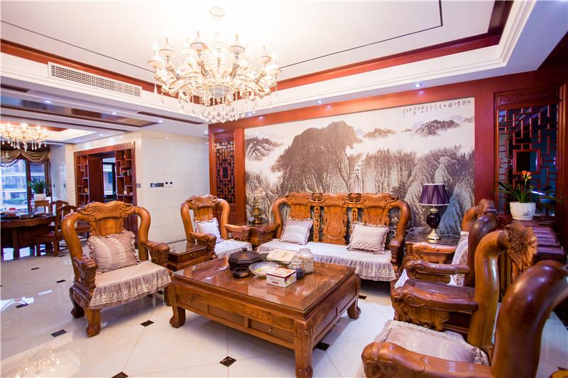 蓝光雍锦世家中式风格效果图
