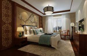 中央一品3室2厅中式风格效果图