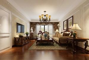 金色华庭2室2厅欧式风格效果图