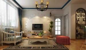 碧桂园3室2厅地中海风格效果图