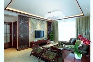 盛达国际中式风格家装效果图