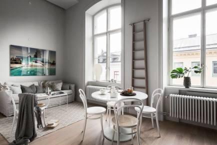 北欧风格复试公寓家装效果图