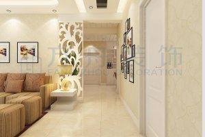 尚东国际两房现代简约装修
