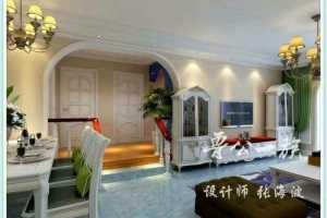 新欧式三居室案例