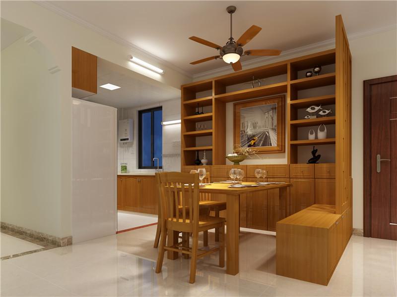 海苏花园现代简约风格二居室装修