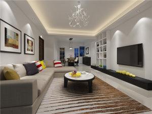 大地豪庭四居室现代简装