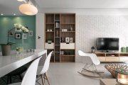 和睦人家现代简约风格二居室装修