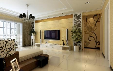 龙湖香醍国际160平欧式风格设计方案家装效果图