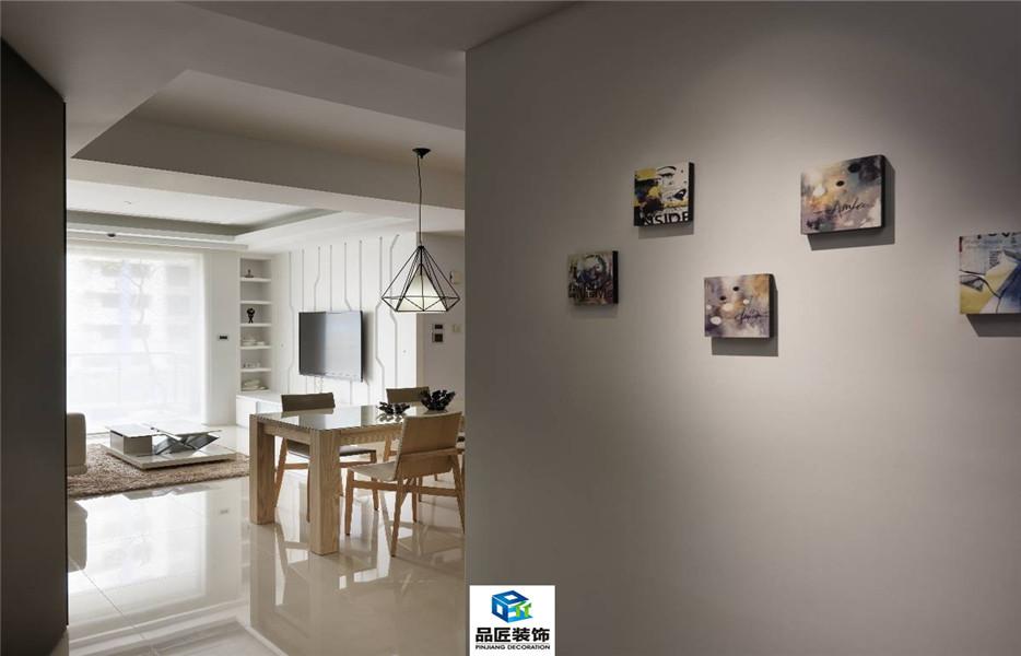三室两厅 爱尚海蓝现代简约装修效果图