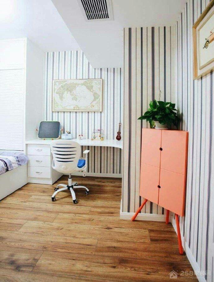 信达水岸茗都温馨现代简约二居装修效果图