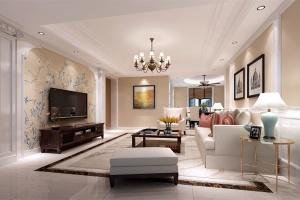 香榭一品欧式风格128㎡家装效果图