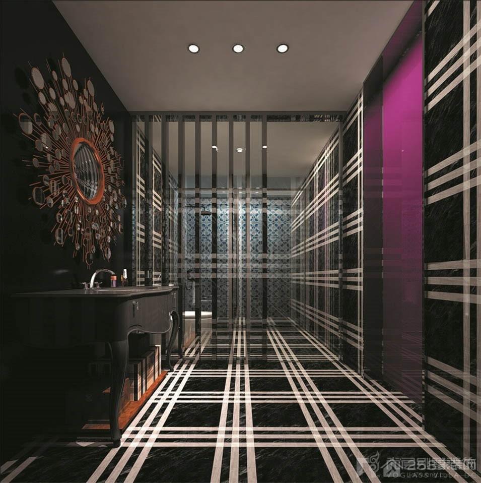 紫气钟山美式风格装修效果图