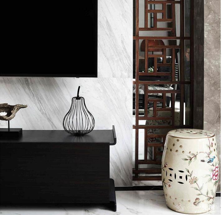 金域国际中式风格三居家装效果图
