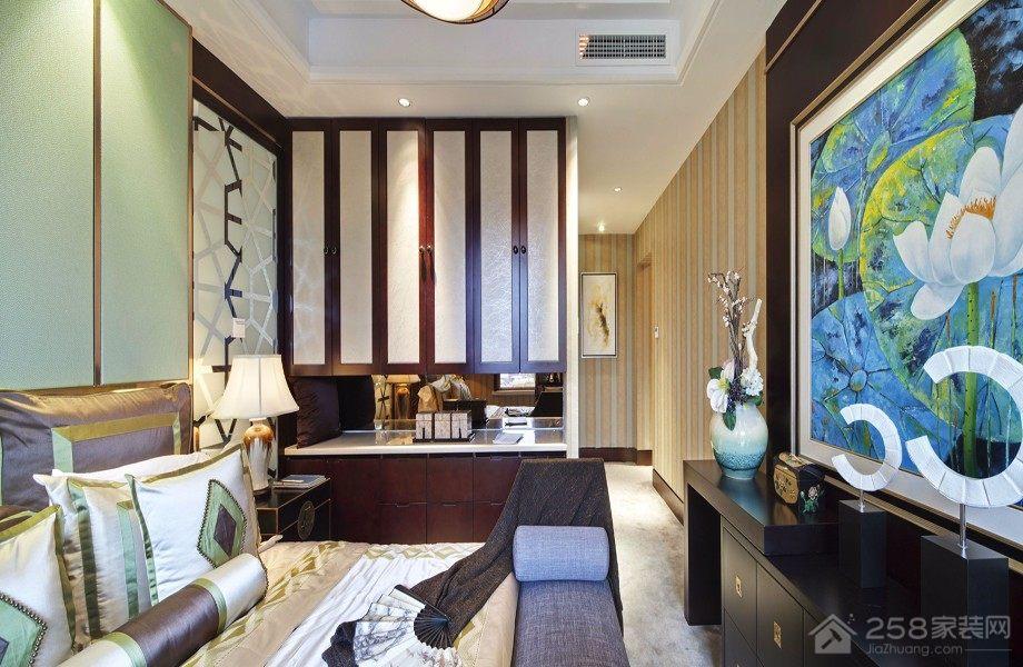 香山美墅中式风格四居家装效果图