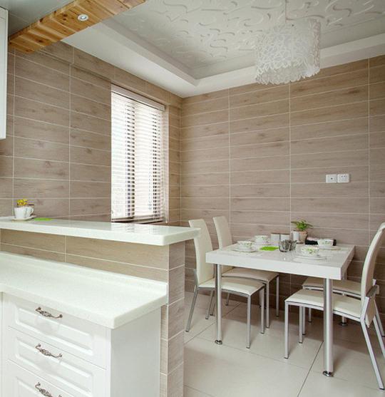 自由向现代简约三居室装修