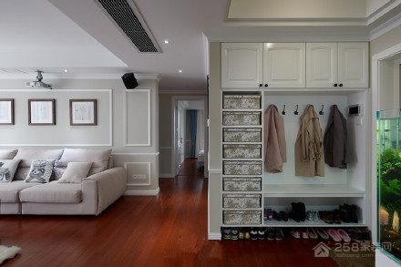 保利香槟国际现代简约风格三居家装效果图