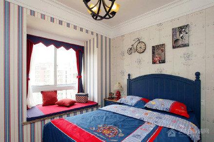 丽阳兰庭美式风格三居家装效果图