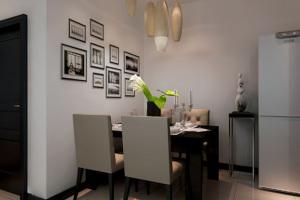 金地艺境87㎡现代简约风格二居家装效果图