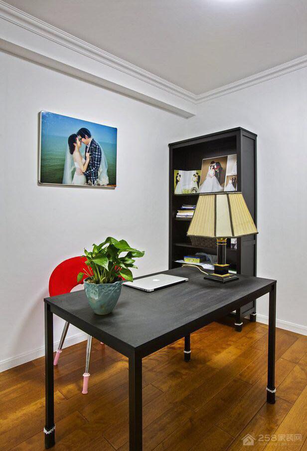 径庭家园美式风格三居家装效果图